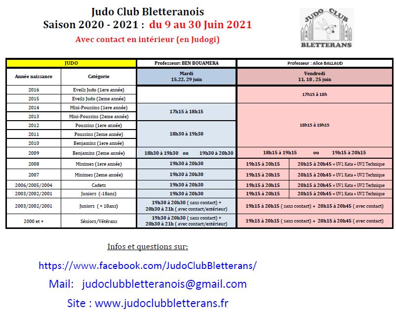 9 juin au 30 juin 2021 jcb