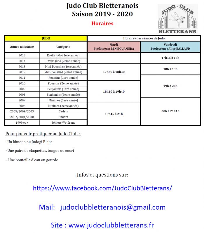 ok Horaires 2019 2020 jcb 1