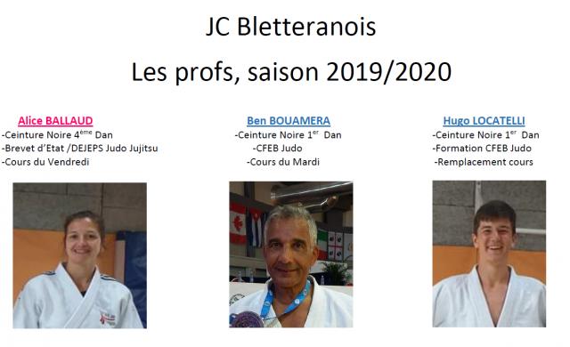 Profs 2019 2020